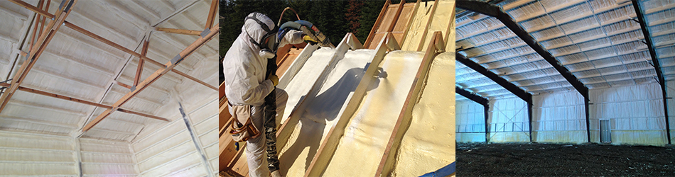 spray foam insulation examples