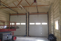 spray foam insulation in commercial shop space