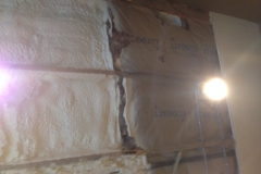 spray foam over traditional insulation